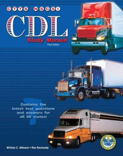 9780787281755: THE CTTS CDL STUDY MANUAL (ENGLISH VERSION)
