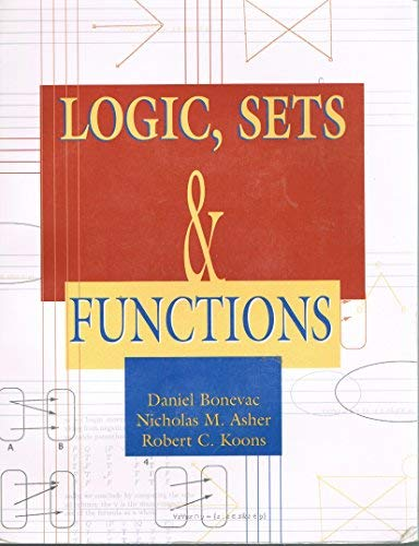9780787282035: Logic Sets and Functions