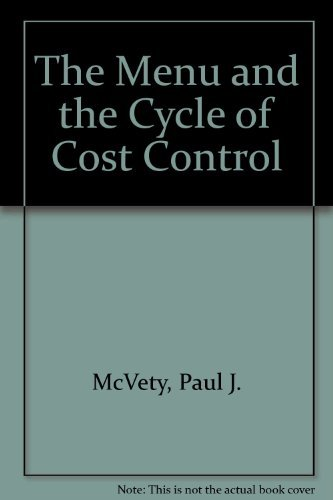 9780787283773: The Menu and the Cycle of Cost Control