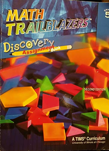 9780787284978: Math Trailblazers: Grade 5 Discovery Assignment Book