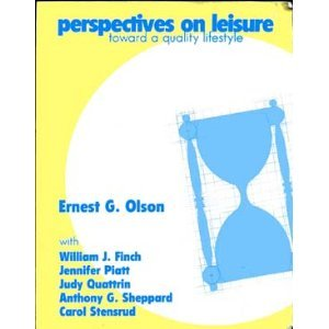 9780787287344: Perspectives on Leisure: Toward a Quality Lifestyle