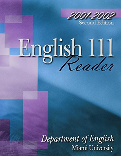 9780787287467: English 111 Reader