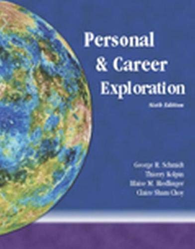 9780787289041: Personal and Career Exploration