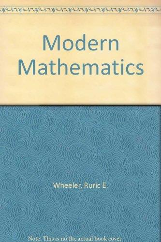 9780787290627: Modern Mathematics