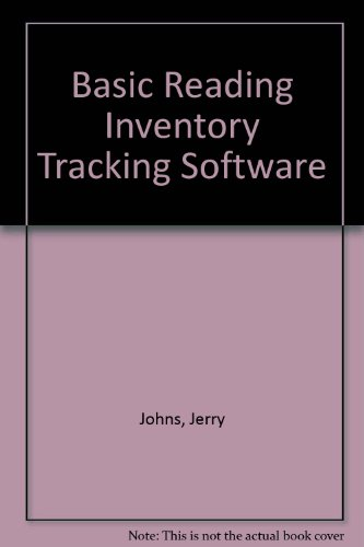 BASIC READING INVENTORY TRACKING SOFTWARE: JOHNS JERRY, FRITSCHEN