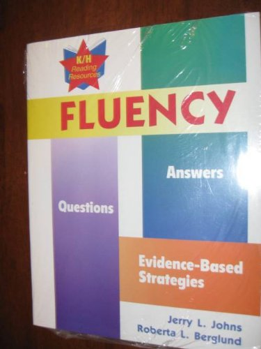 9780787291433: Fluency: Questions, Answers, Evidence-Based Strategies
