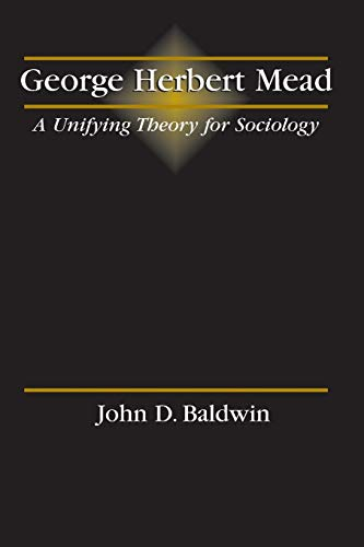 9780787291488: George Herbert Mead: A Unifying Theory for Sociology