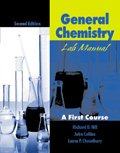 9780787296506: General Chemistry Lab Manual: A First Course