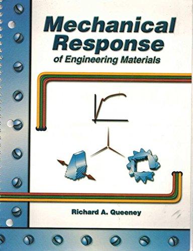 9780787297879: MECHANICAL RESPONSE OF ENGINEERING MATERIALS