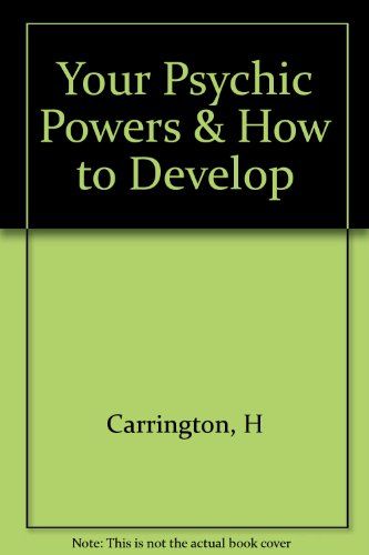 9780787301576: Your Psychic Powers & How to Develop