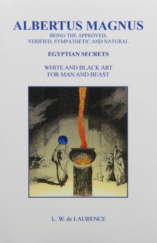 9780787302641: Albertus Magnus: Egyptian Secrets, White & Black Art for Man & Beast