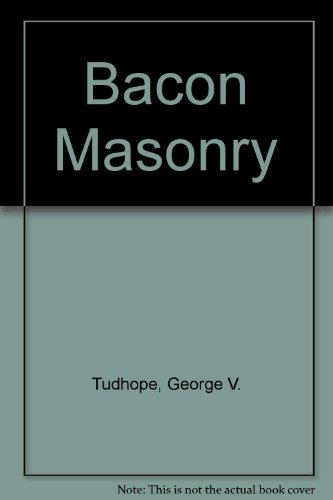 9780787309008: Bacon Masonry