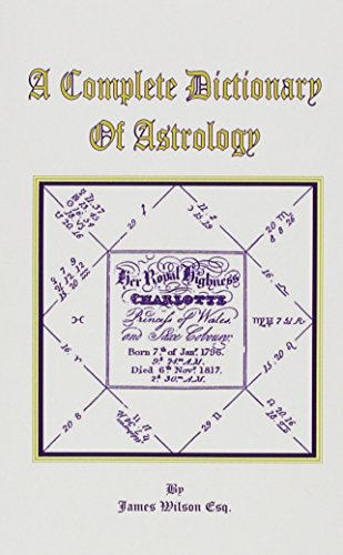 9780787309732: A Complete Dictionary of Astrology