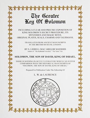 9780787311032: Greater Key of Solomon