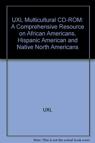 9780787609061: Uxl Multicultural CD: A Comprehensive Resource on African Americans, Hispanic Americans and Native North Americans