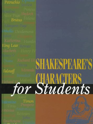 9780787613006: Shakespeare's Characters for Students