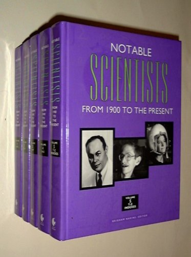 9780787617516: Notable Scientists: From 1900 to the Present