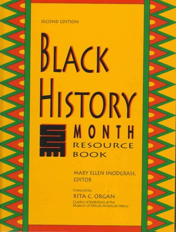 9780787617752: Black History Month Resource Book