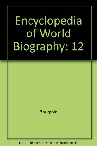 9780787625528: Encyclopedia of World Biography