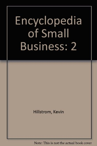 9780787628727: Encyclopedia of Small Business: 2