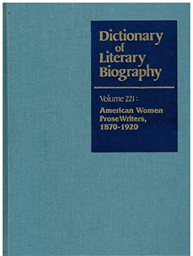 Dictionary Of Literary Biography Volume 221: American: Harris, Sharon M.