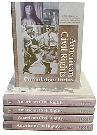 9780787631697: American Civil Rights Reference Library (5 volume set: cumulative index, primary sources, almanac vol 1 and 2, biographies)