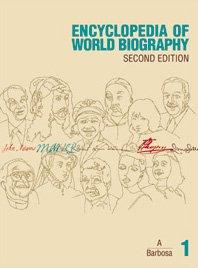 Encyclopaedia of World Biography Supplements: Vol 19 (Hardback): Jennifer Mossman, Gale Research ...