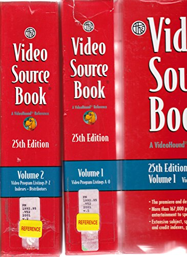 9780787635466: Video Sourcebook (Video Source Book, 25th ed)