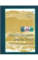 9780787637316: World Literature and Its Times: Middle Eastern Literature and Its Times Vol 6 (World Literature & Its Times)