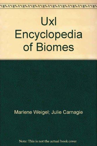 9780787637354: Uxl Encyclopedia of Biomes