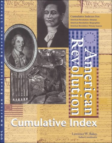 9780787638177: American Revolution Reference Library: Cumulative