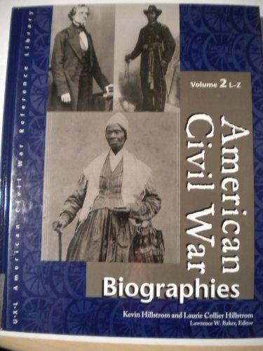 9780787638221: American Civil War Biographies: 2