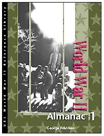 World War II: Almanac (Hardback): George Feldman