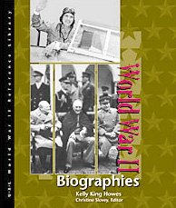 9780787638955: World War II Reference Library: Biographies
