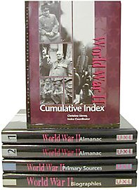 9780787639013: World War II Reference Library