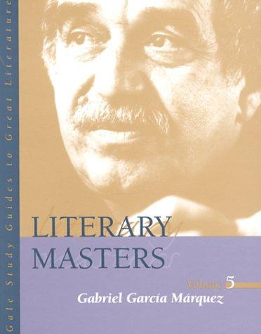 Literary Masters : Gabriel Garcia Marquez: Joan Mellen