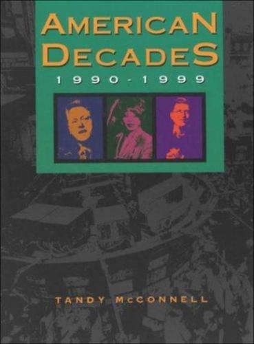 9780787640309: 10: American Decades: 1990-1999