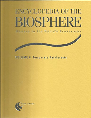 9780787645120: Encyclopedia of the Biosphere: Temperate Rainforests