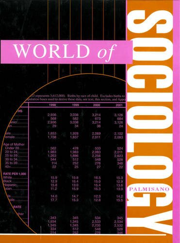 World of Sociology (Hardback): Joseph M Palmisano