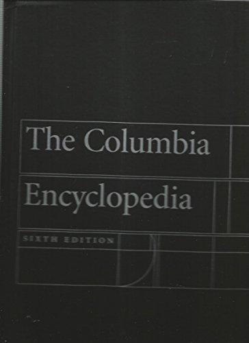 9780787650759: Columbia Ency 6th ed Book Club Edition