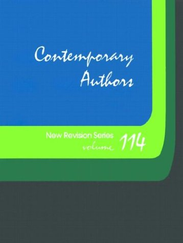 9780787651947: Contemporary Authors New Revision Series: A Bio-Bibliographical Guide to Current Writers in Fiction, General Non-Fiction,  Poetry, Journalism, Drama, Motion Pictures, Television, & Other Fields