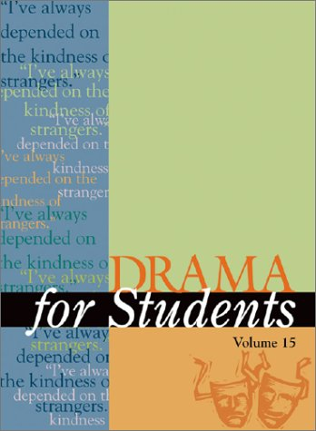 9780787652531: Drma for Stdnt 15 (Drama for Students)