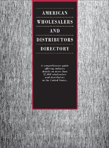 9780787652647: American Wholesalers and Distributors Directory (American Wholesalers & Distributors Directory)