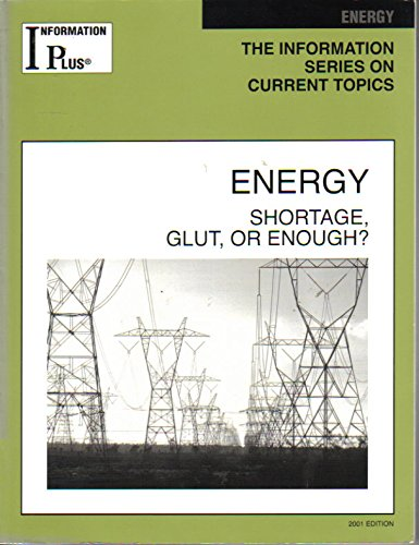 Energy: Shortage, Glut, or Enough? (Information Plus Reference Series): Dupler, Doug