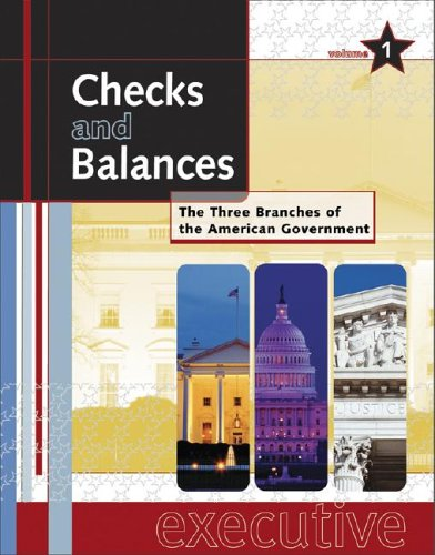 9780787654092: Checks and Balances: The Three Branches of the American Government (3 Volume Set)