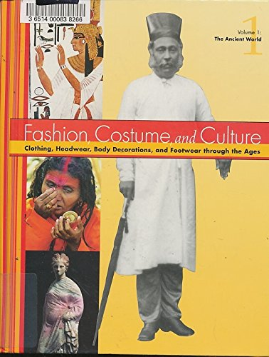 9780787654184: Fashion, Costume, and Culture