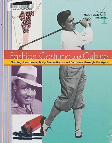9780787654214: Fashion Costume and Culture: Clothing Headwear Body Decorations and Footwear Through the Ages