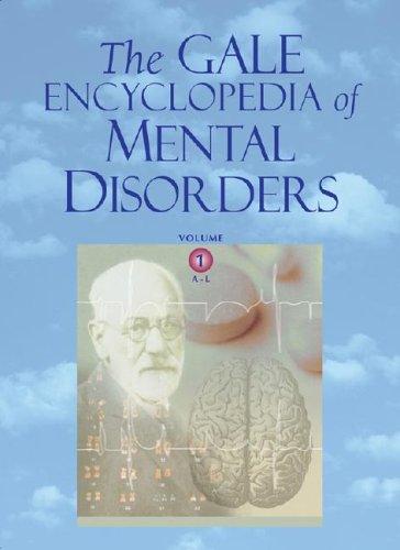 9780787657680: The Gale Encyclopedia of Mental Disorders - 2 Volume Set