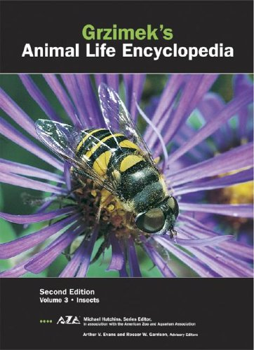 3: Grzimek's Animal Life Encyclopedia: Insects: Hutchins, Michael