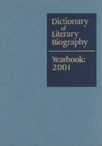 Dictionary of Literary Biography Yearbook 2001: Matthew Bruccoli